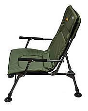 М'яке коропове крісло для риболовлі з регульованими ніжками SF-1, фото 3