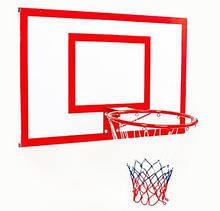 Щит баскетбольный металлический Jordan с кольцом и сеткой 1000х670 мм