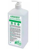 Антисептик спиртовий для рук з антивірусною корейською добавкою і алое, алосепт гель 1 л