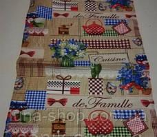 Кухонное вафельное полотенце, Франция, 35х70, хлопок