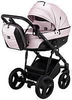 Дитяча коляска 2 в 1 Bair Play Plus BPL-108 рожевий (пудра) перламутр - чорний