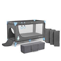 Ліжко-манеж Kinderkraft Joy Blue (KKLJOYBLU00000)