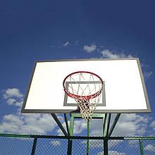 Щит баскетбольный металлический Newt Jordan с кольцом и сеткой 1200х900 мм