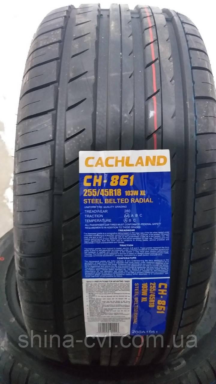 Літні шини 255/45 R18 103W XL CACHLAND CH-861