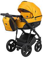 Дитяча коляска 2 в 1 Bair Play Plus BPL-134 гірчичний (перламутр) - чорний