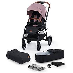 Универсальная коляска 2 в 1 Kinderkraft Evolution Cocoon Marvelous Pink (KKWEVCOPNK2000)