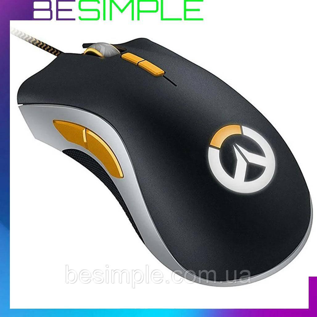 Игровая мышь с подсветкой RAZER USB Death Adder OVERWATCH / Компьютерная мышь
