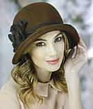 Фетровая шляпа с полями завернутыми вверх, фото 2