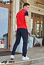 Мужской летний спортивный костюм с футболкой хаки, фото 8