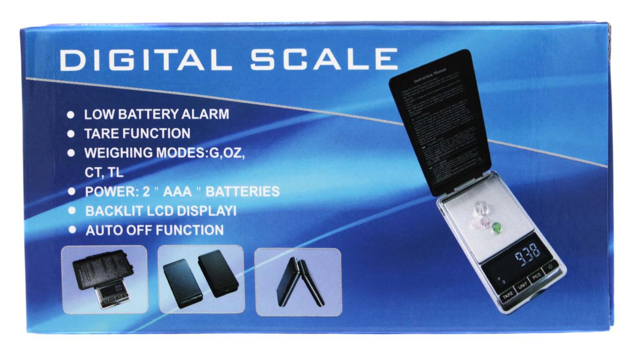 Ювелирные веса 200г 6*12*1.5 DIGITAL SCALE (синяя коробка)