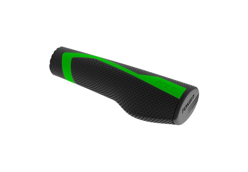 Ручки керма KLS Token зелений