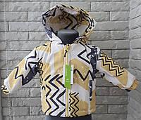 Куртка-парку весняна на хлопчика 3 роки, фото 1