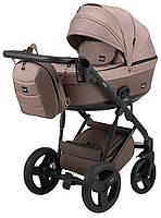 Дитяча коляска 2 в 1 Bair Play Plus Soft BPS-857 бежевий - капучіно(еко-шкіра), фото 1