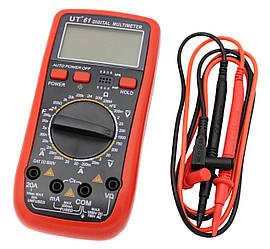 """Мультиметр """"Digital"""" (Тестер), VC61, типи вимірювань - DCV, АCV, DCA, АСА, Ом."""
