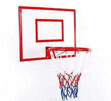 Щит баскетбольный детский  Jordan с кольцом и сеткой 600х450 мм