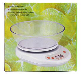 Ваги кухонні KE-2 на 10 кг ваги електронні з чашею