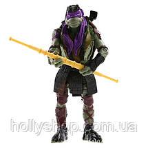 Черепашки-ниндзя: Набор фигурок из 4-х Черепашек 13 см Ninja Turtles Подвижные руки, ноги , голова, фото 3