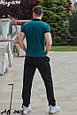 Мужской летний спортивный костюм с футболкой №2014, фото 6