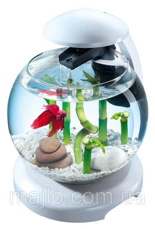 Акваріумний набір Tetra Cascade Globe 6.8 л для півника і золотої рибки Білий (4004218238909)
