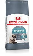 Сухой корм для котов от 1 года для выведения волосяных комков Royal Canin Hairball Care 2 кг