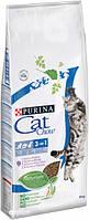 Сухой корм для кошек Purina Cat Chow Feline с индейкой 15 кг