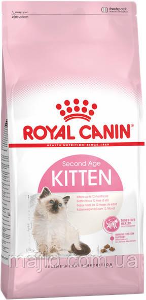 Сухий корм Royal Canin Kitten для кошенят від 4 до 12 місяців 2 кг
