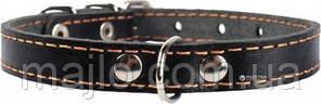 """00031 Нашийник чорний (14мм*27-35см) """"Collar"""""""