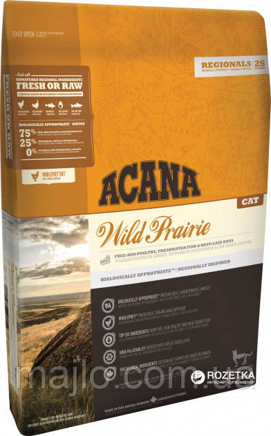 Корм для собак Acana Wild Prairie Cat 0.34 кг (2003437/25022022)