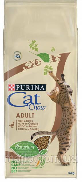 Сухий корм для кішок Purina Cat Chow Adult з качкою 15 кг