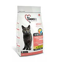 Сухой корм для взрослых котов 1st Choice Indoor Vitality Chicken со вкусом курицы 0.35 кг