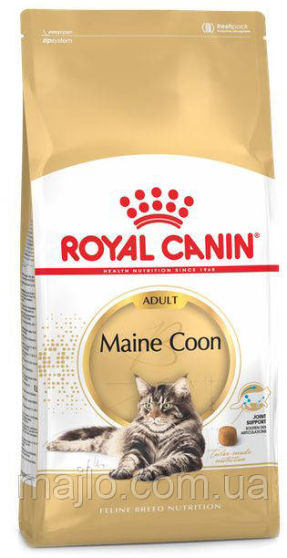 Сухой корм Royal Canin Maine Coon Adult для котов породы мейн-кун от 15 месяцев 400 г