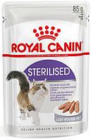 Упаковка вологого корму Royal Canin STERILISED 85 г, фото 1
