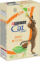 Сухий корм для кішок Purina Cat Chow Adult з куркою та індичкою 400 г, фото 1