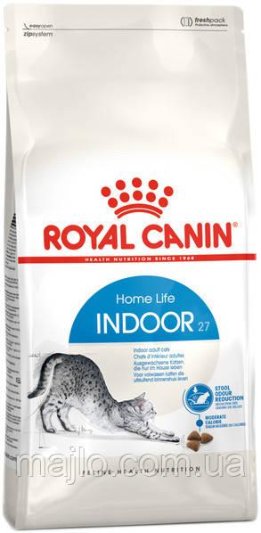 Сухий корм Royal Canin Indoor для котів від 1 до 7 років живуть в приміщенні 400 г