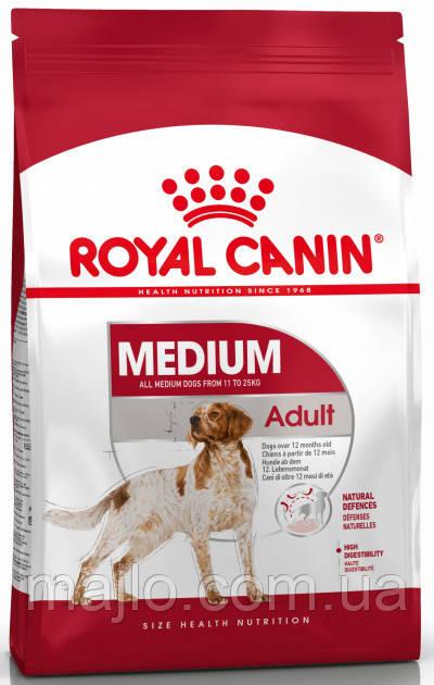 Сухий корм Royal Canin Medium Adult для дорослих собак середніх порід старше 12 місяців 1 кг (НФ-00000284)