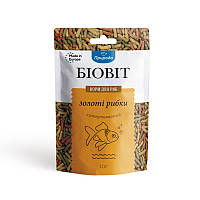 Корм для риб ТМ Природа, Біовіт Золоті рибки, гранульований 10г. арт.PR240467