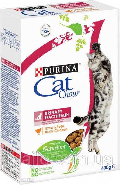 Сухий корм для кішок Purina Cat Chow Urinary Tract Health з куркою 400 г
