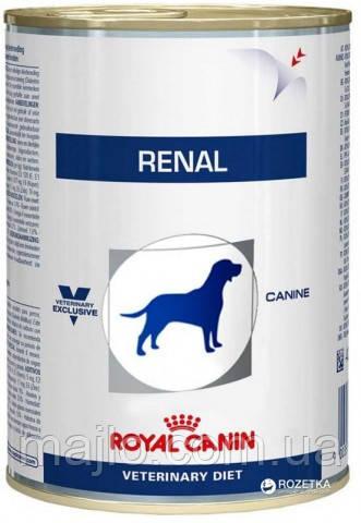 Вологий корм Royal Canin Renal для собак при хронічній нирковій недостатності 410 г