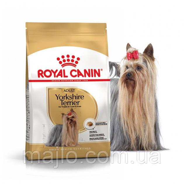 Сухой корм Royal Canin Yorkshire Terrier Adult для взрослых собак старше 10 месяцев 0,5 кг