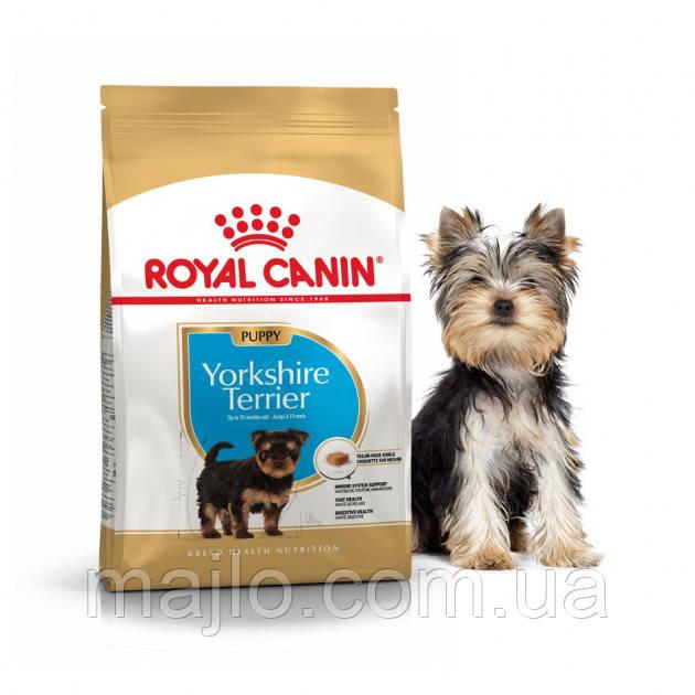 Сухий корм Royal Canin Yorkshire Terrier Puppy для цуценят до 10 місяців 0,5 кг