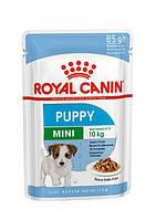 Вологий корм Royal Canin Mini Puppy для цуценят собак дрібних розмірів у віці з 2 до 10 місяців 0.085 кг