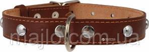 """00036 Нашийник коричневий (14мм*27-35см) """"Collar"""""""