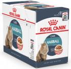 Упаковка влажного корма Royal Canin Hairball Care для котов для выведения волосяных комков 12 шт по 85 г