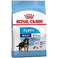 Сухой корм Royal Canin Maxi Puppy для щенков крупных пород до 15 месяцев  15кг