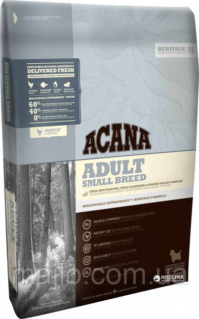 Корм для собак Acana Adult Small Breed 2кг (2002854/29122021)