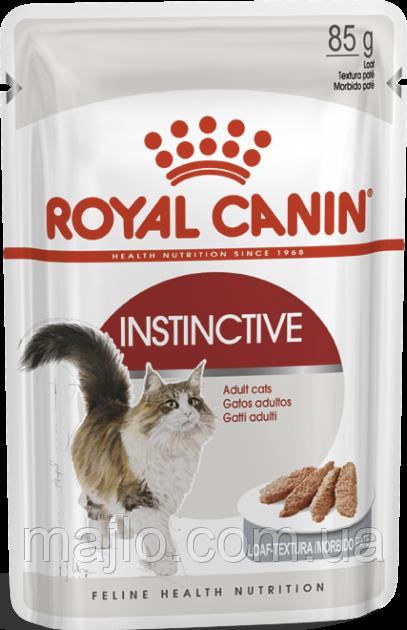 Вологий корм для котів Royal Canin Instinctive Loaf 85 г