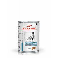 Консервы SENSITIVITY CANINE DUCK Cans Royal Canin  при аллергических заболеваниях и пищевой непереносимости ,