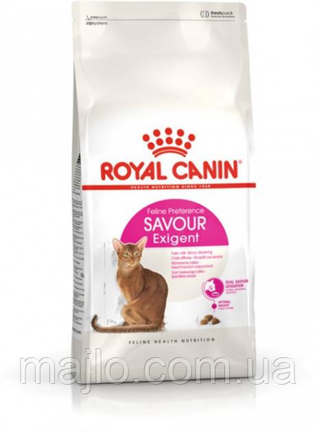 Сухий корм Royal Canin Exigent Savour для привередливых котов от 1 года 400 г