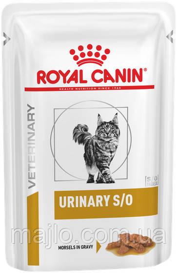 Вологий корм для дорослих кішок з хронічною нирковою недостатністю Royal Canin Renal Feline Beef pouches