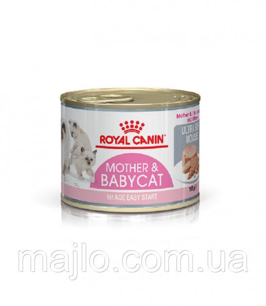 Влажный корм для котят Royal Canin Babycat Instinctive 195 г